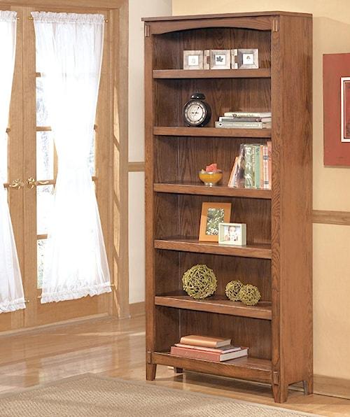 Ashley Furniture Cross Island Large Bookcase