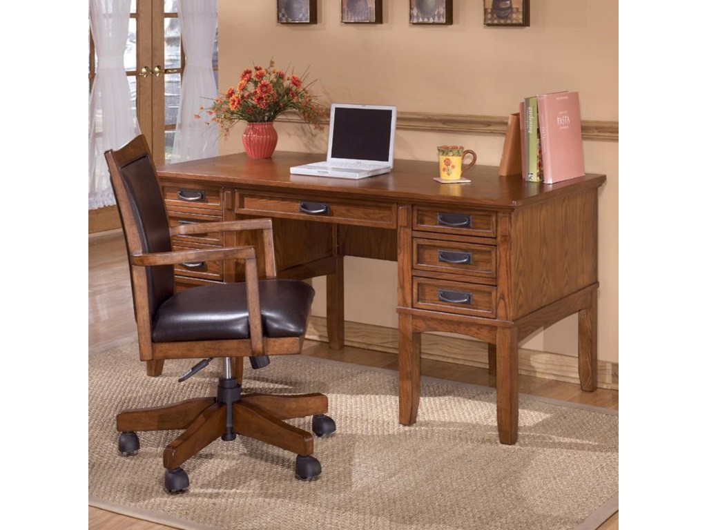 Shown with keyboard drawer closed and desk chair