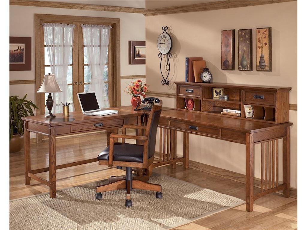 Ashley Furniture Cross IslandLarge Leg Desk