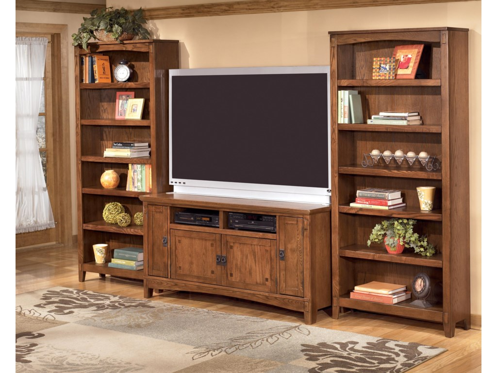 Shown with 2 Large Bookcases