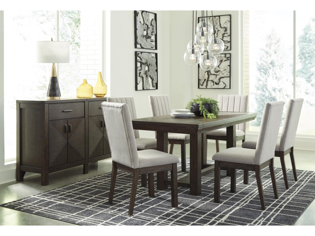Dellbeck 8 PC Dining Room Set