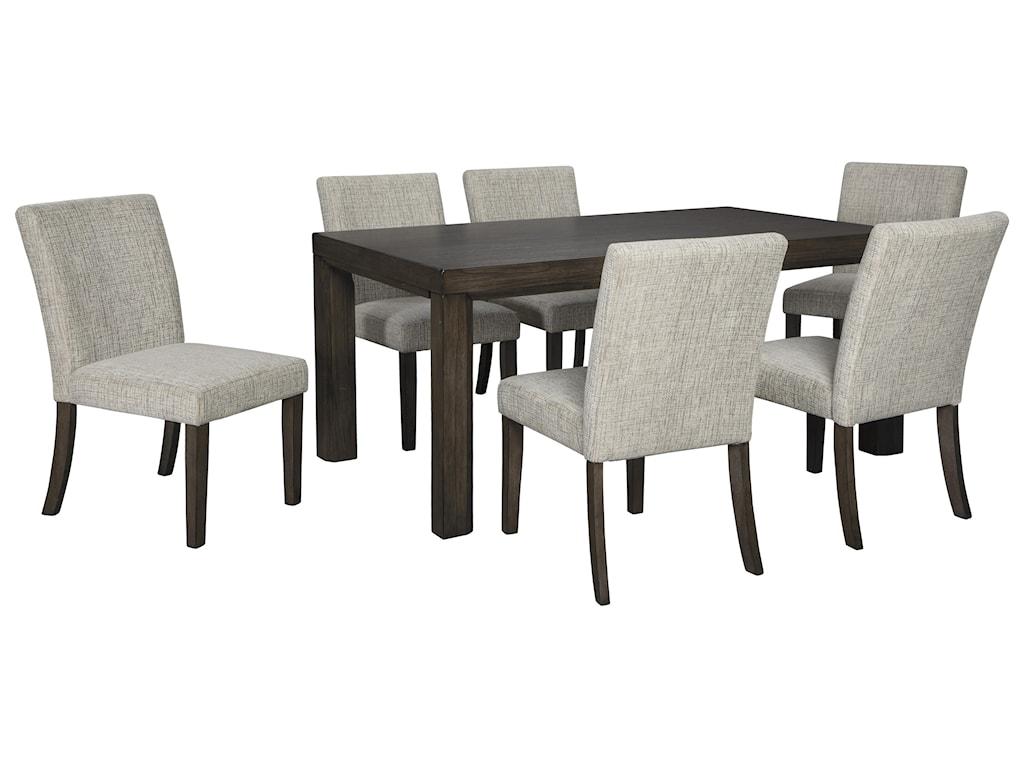 Deylin 7 PC Dining Room Set