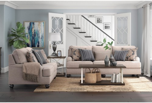 Ashley Furniture Fermoy Living Room Group | Rooms for Less ...