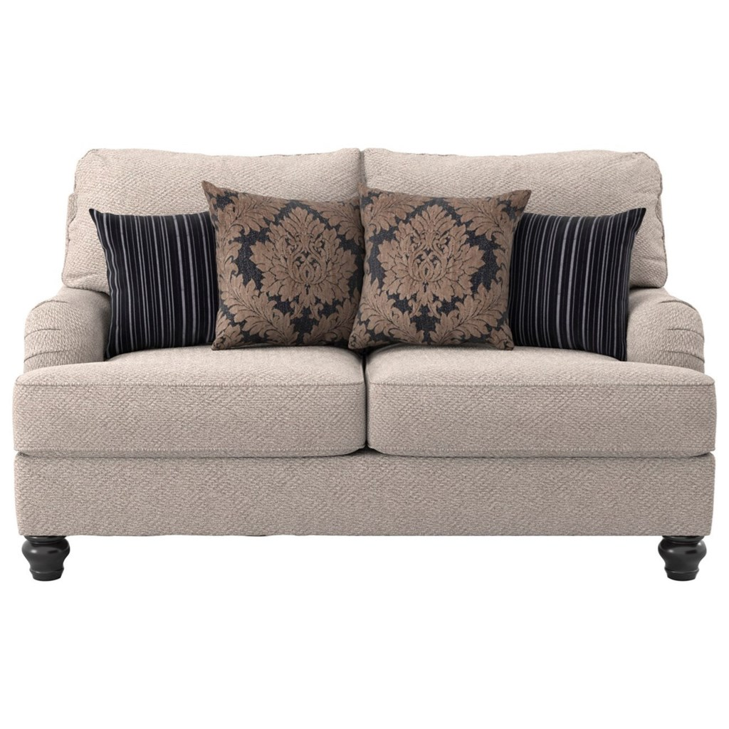 Ashley Furniture Fermoy 7370135 Transitional Loveseat Furniture  ~ Sofa Beds Ashley Furniture
