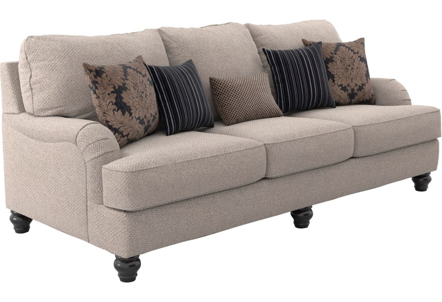 Ashley Furniture Fermoy 73701 39 Transitional Queen Sofa Sleeper And Appliancemart Sofas