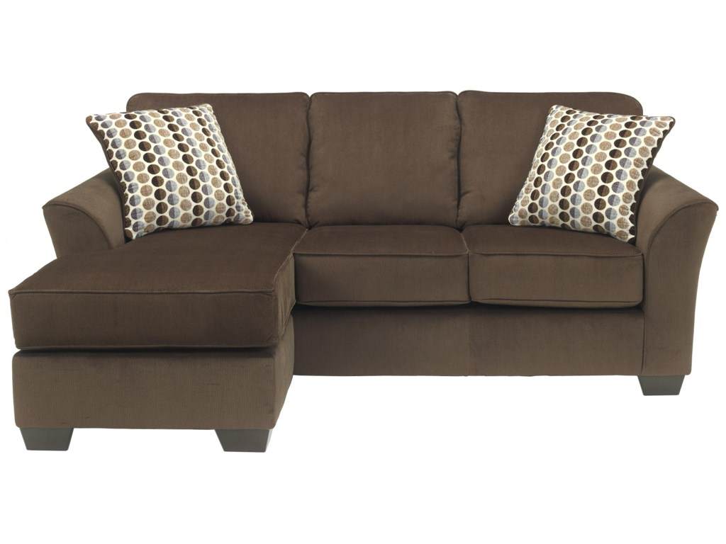 Cafe sofas ashley furniture geor cafe contemporary sofa for Ashley chaise sectional