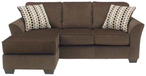Ashley Furniture Geor Cafe Contemporary Sofa Chaise with
