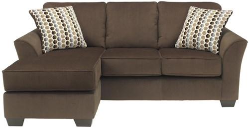 Ashley Furniture Geordie - Cafe Contemporary Sofa Chaise with Reversible Chaise