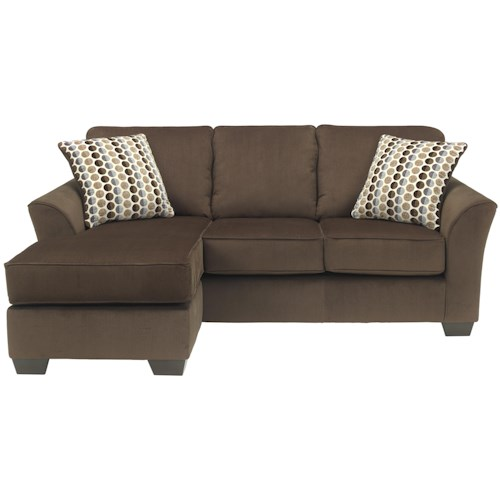 Ashley Furniture Geor Cafe Contemporary Sofa Chaise With Reversible