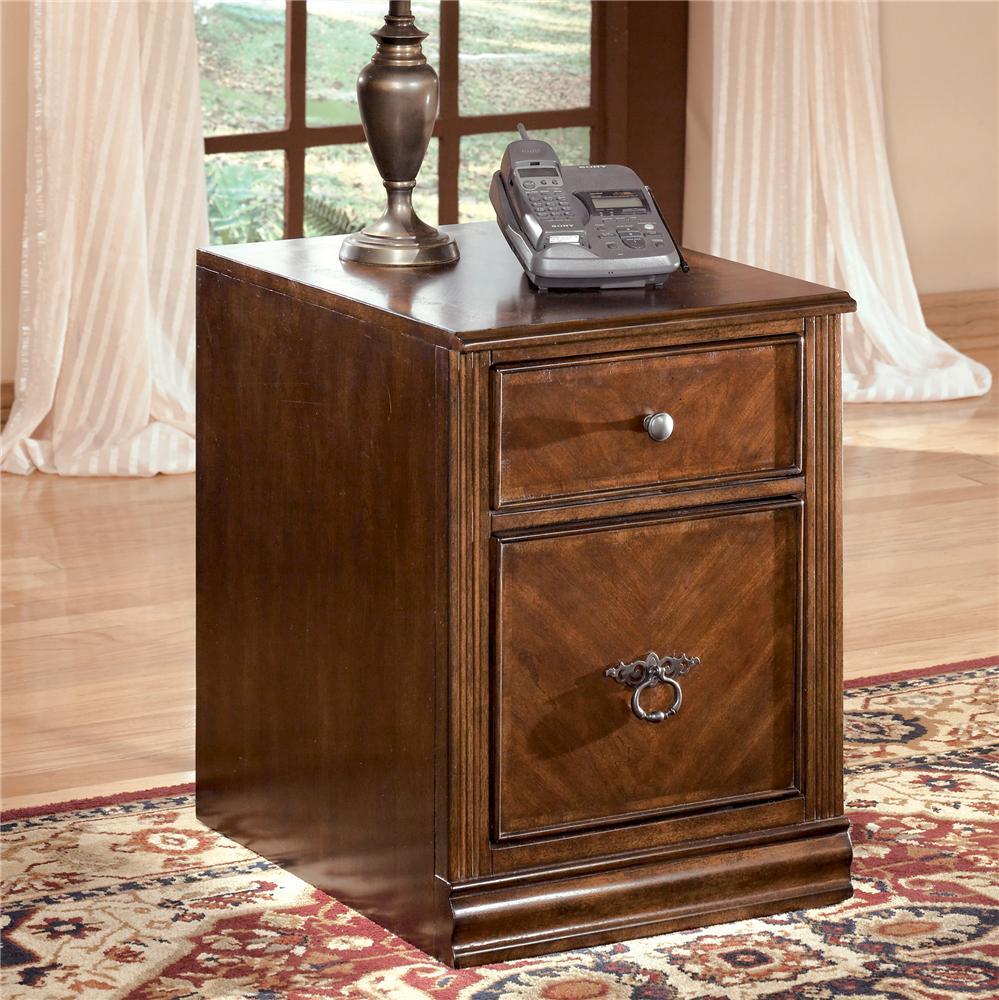 Signature Design By Ashley Hamlyn 2 Drawer File Cabinet Royal Furniture File Cabinets