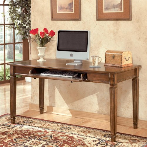 Signature Design by Ashley Hamlyn Large Leg Table Desk