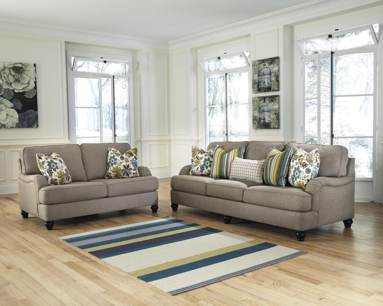 Ashley Furniture Hariston   Shitake Sofa With English Arms