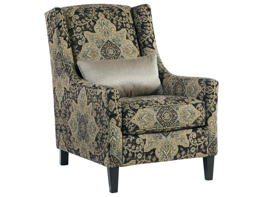 Hartigan Accent Chair With Wing Back And Pillow By Ashley Furniture