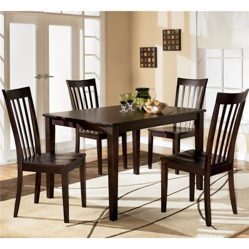 Ashley Furniture Hyland Piece Dining Set With Rectangular Table
