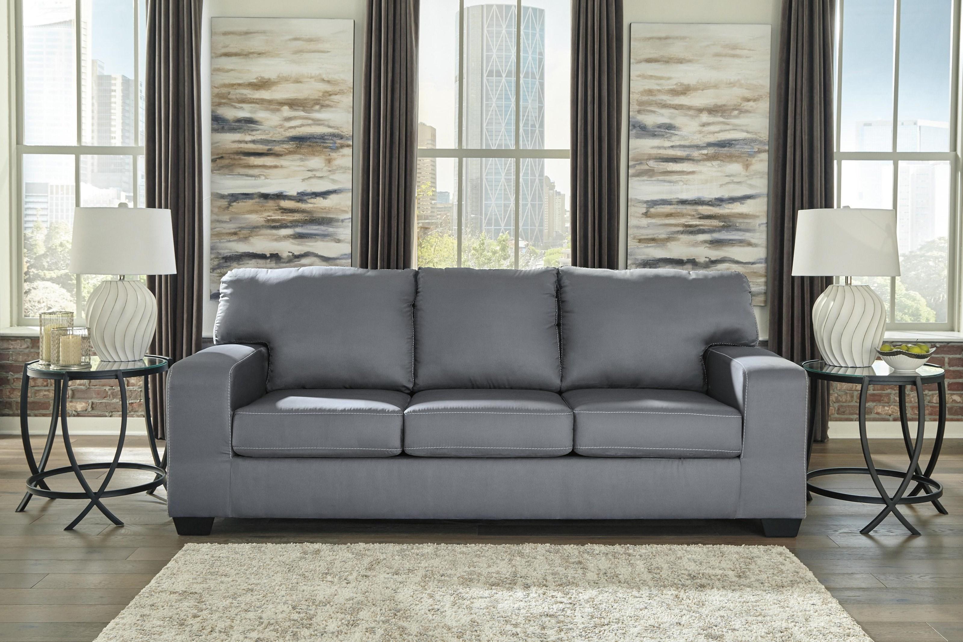 Ashley Furniture Kanosh 4990339 Contemporary Sofa Sleeper Sam Levitz Furniture Sleeper Sofas