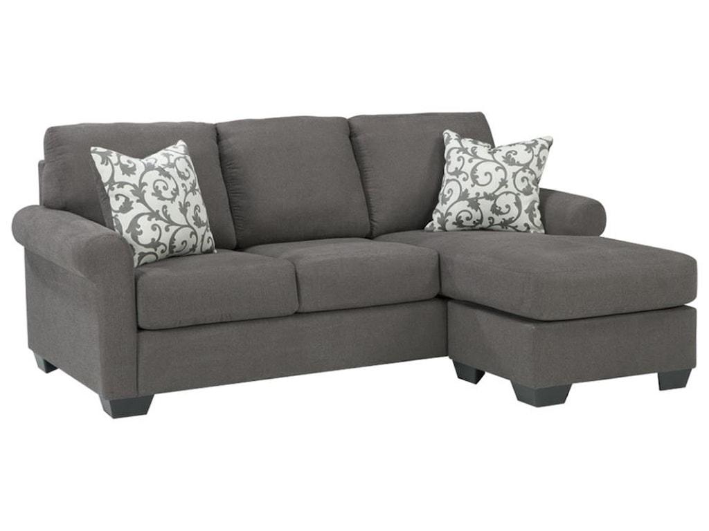 . Kexlor Grey Sofa Chaise by Ashley Furniture at Sam Levitz Furniture