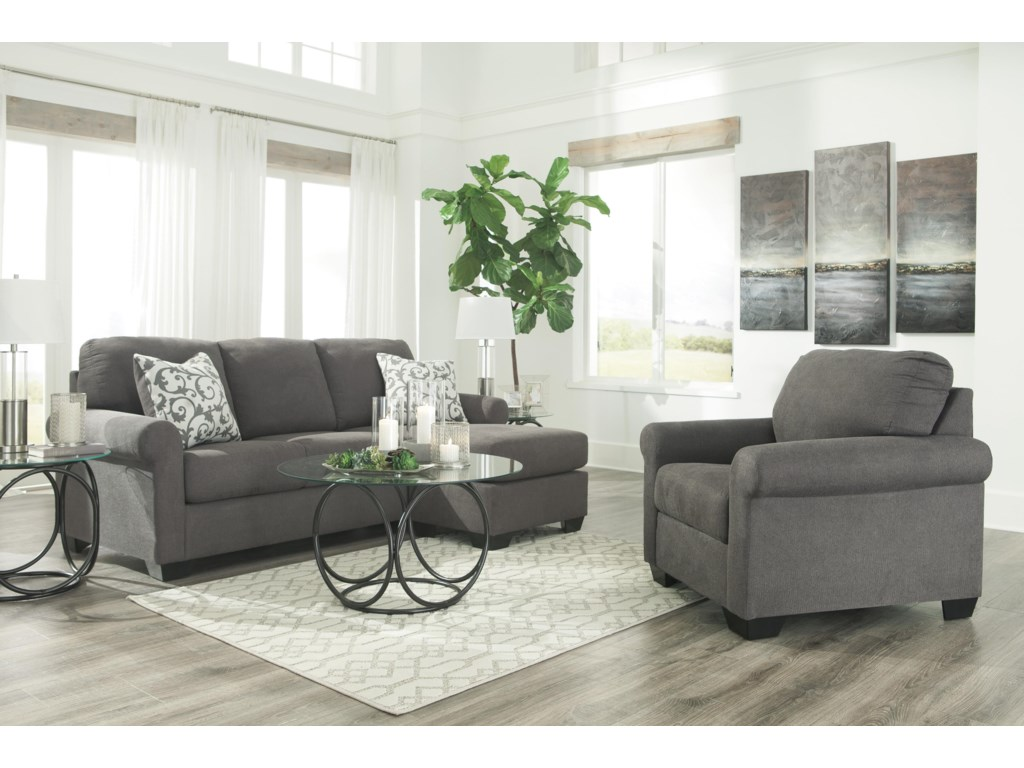Ashley Furniture KexlorChaise Sofa and Chair Set