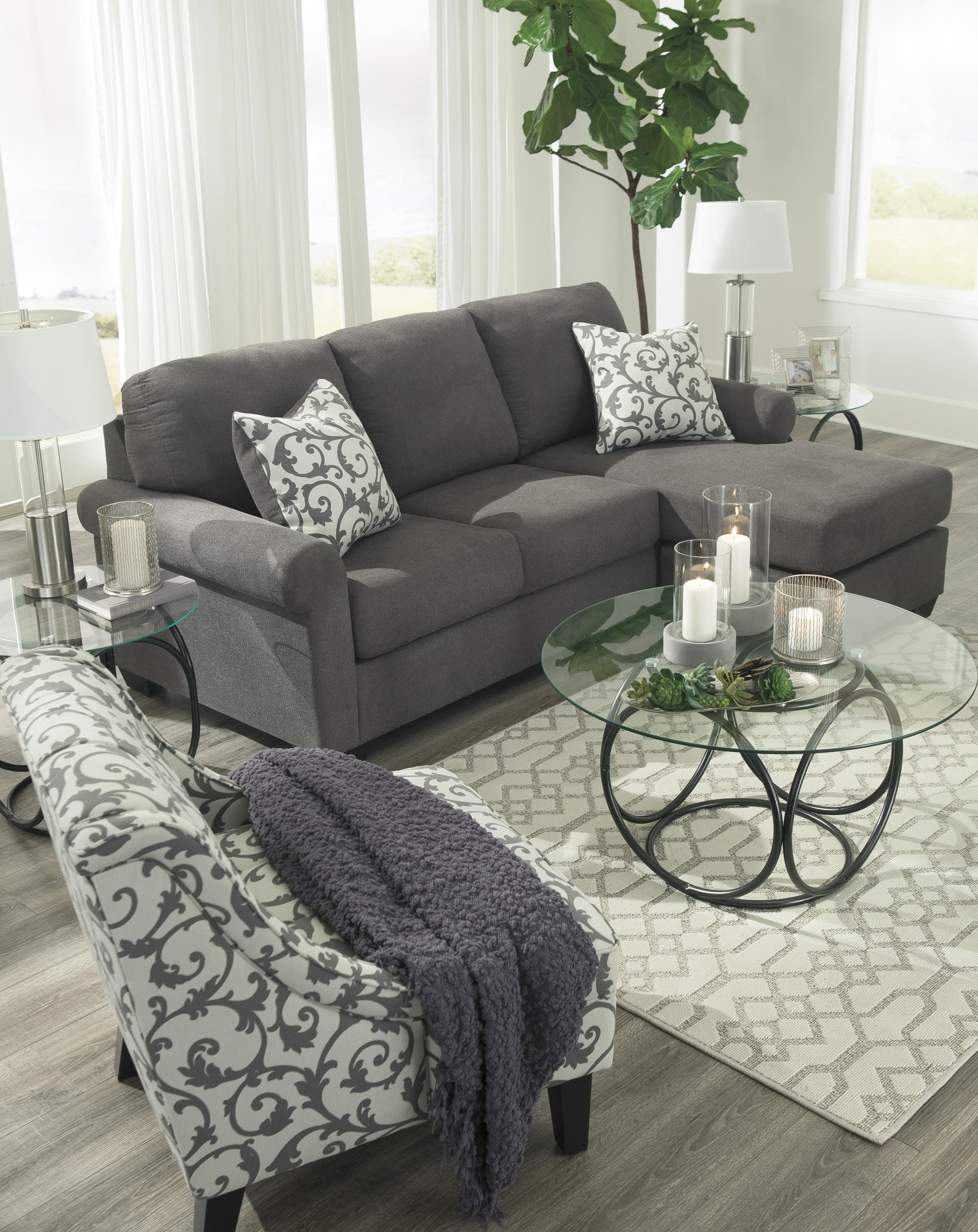 Kexlor Chaise Sofa And Accent Chair Set