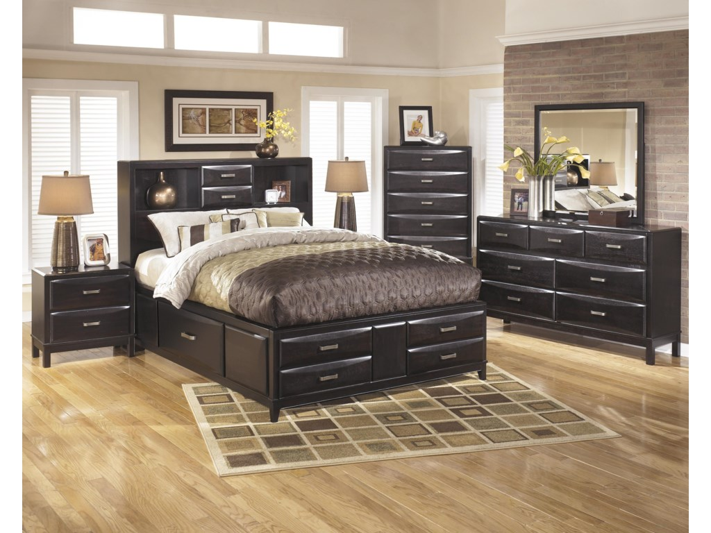 Ashley Furniture KiraQueen Bedroom Group