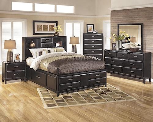 Ashley Furniture Kira Queen Bedroom Group