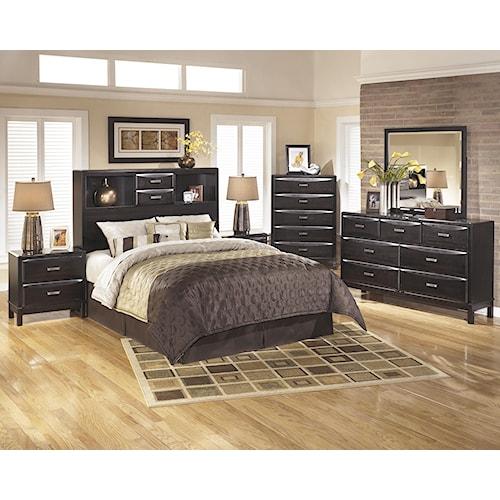 Ashley Furniture Kira King Bedroom Group