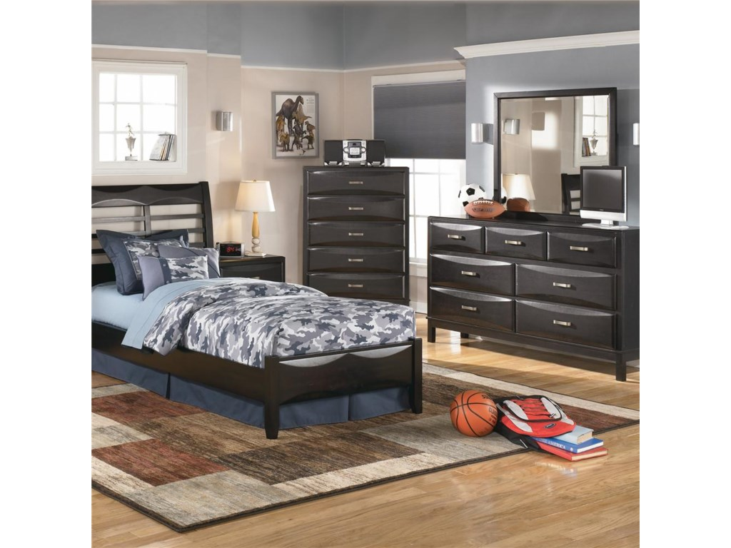 Ashley Furniture KiraDresser and Mirror Combo