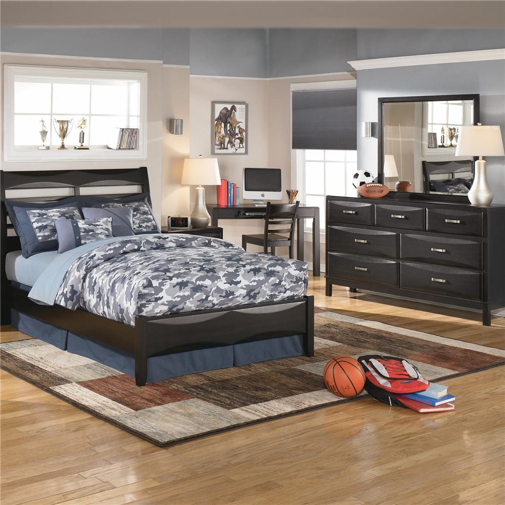 Kira B473 31 7 Drawer Dresser By Ashley Furniture
