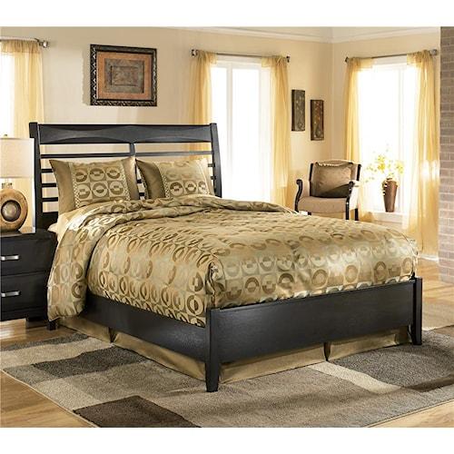 ashley furniture kira queen panel bed - Ashley Furniture Bed Frames