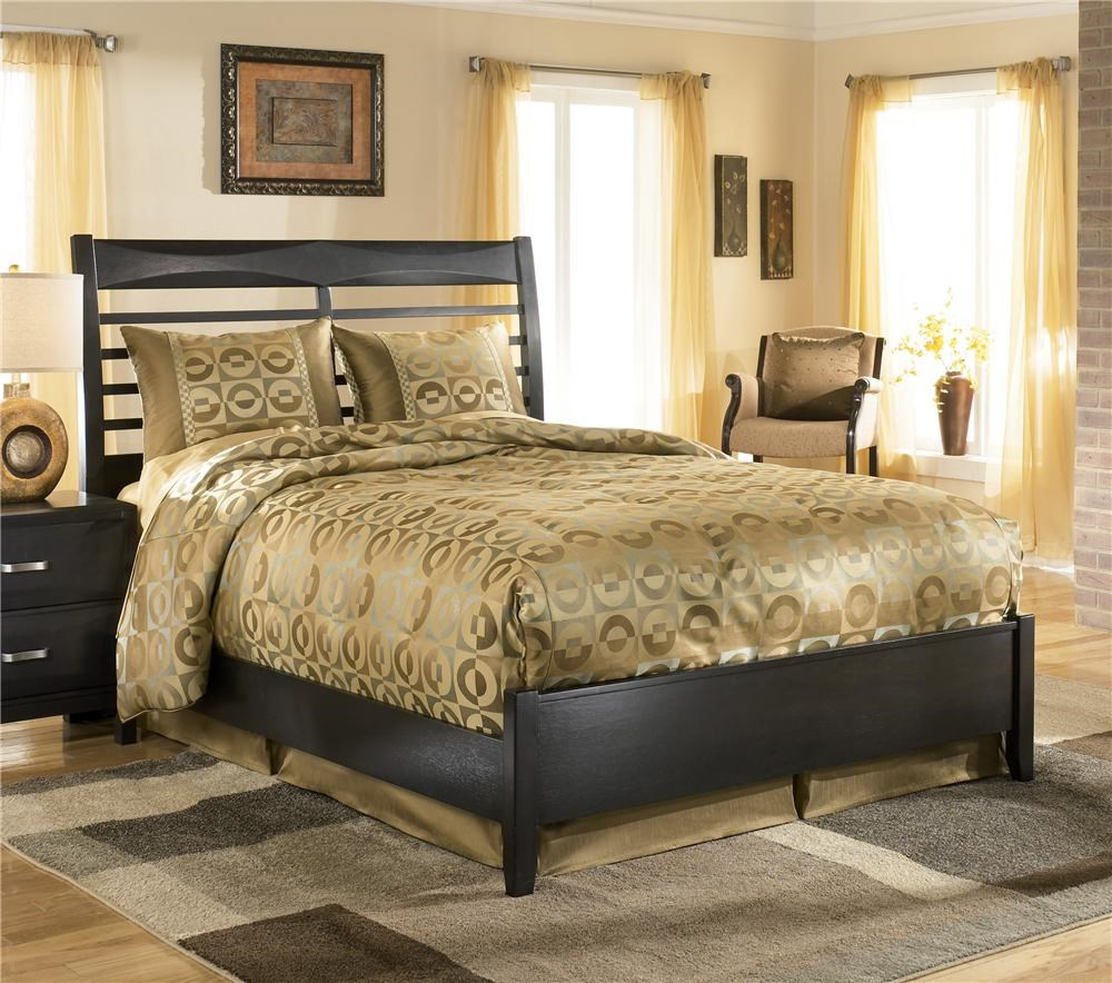 ashley furniture kira queen panel bed - Ashley Furniture Beds