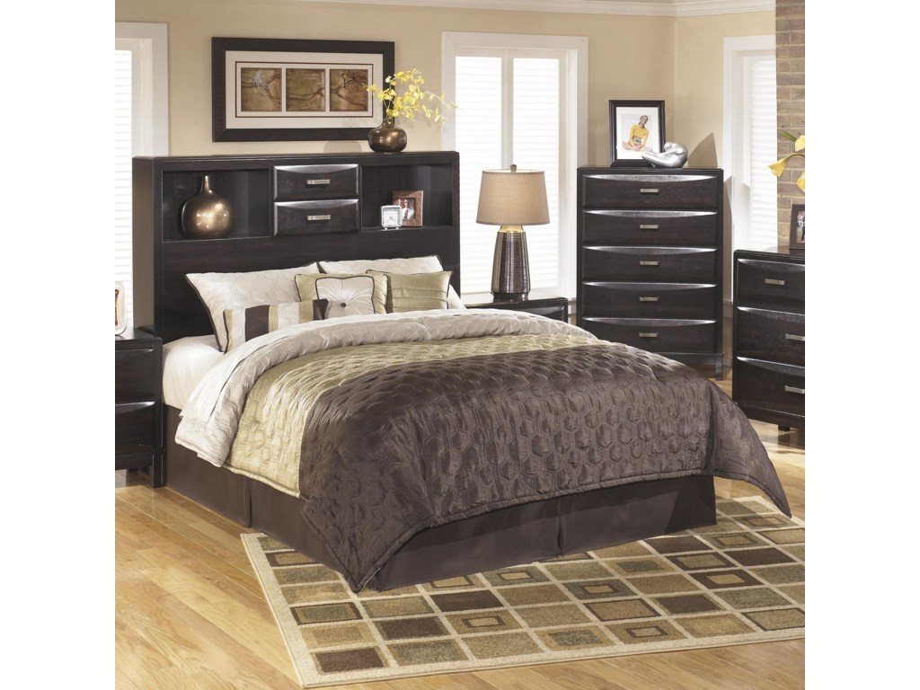 Ashley Furniture Kiraqueen Storage Headboard
