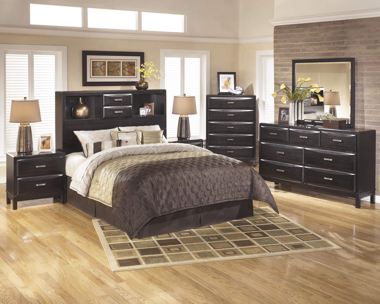 ... Ashley Furniture KiraKing/Cal King Storage Headboard