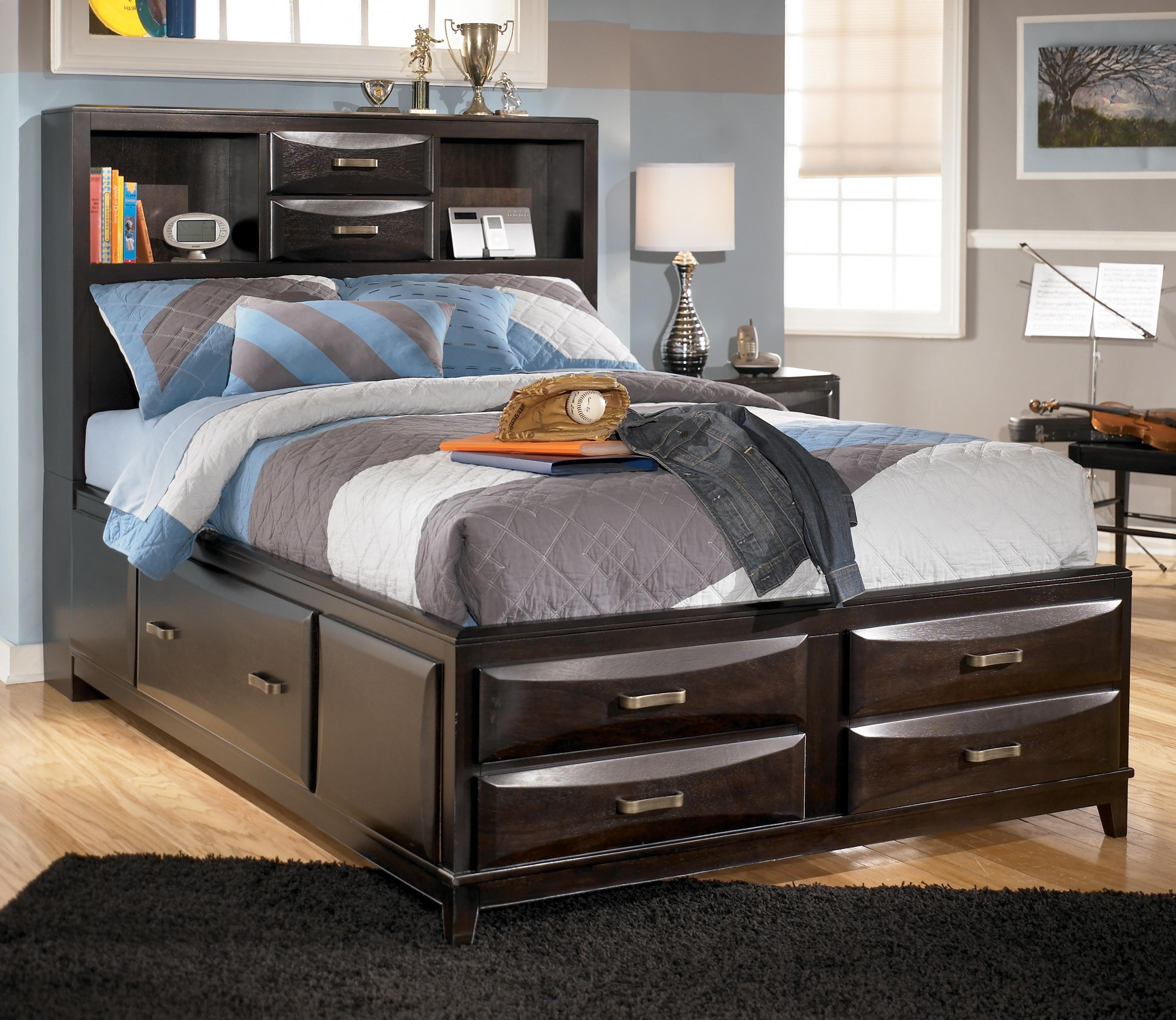 Ashley Furniture Kira Full Storage Bed Westrich Furniture