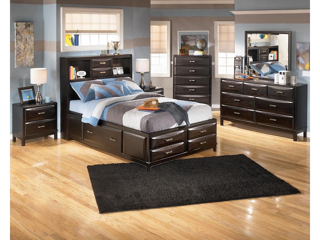 Ashley Furniture KiraFull Storage Bed