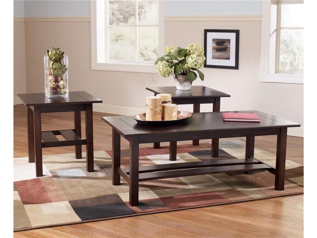 Signature Design by Ashley Lewis3-in-1 Pack Occasional Tables