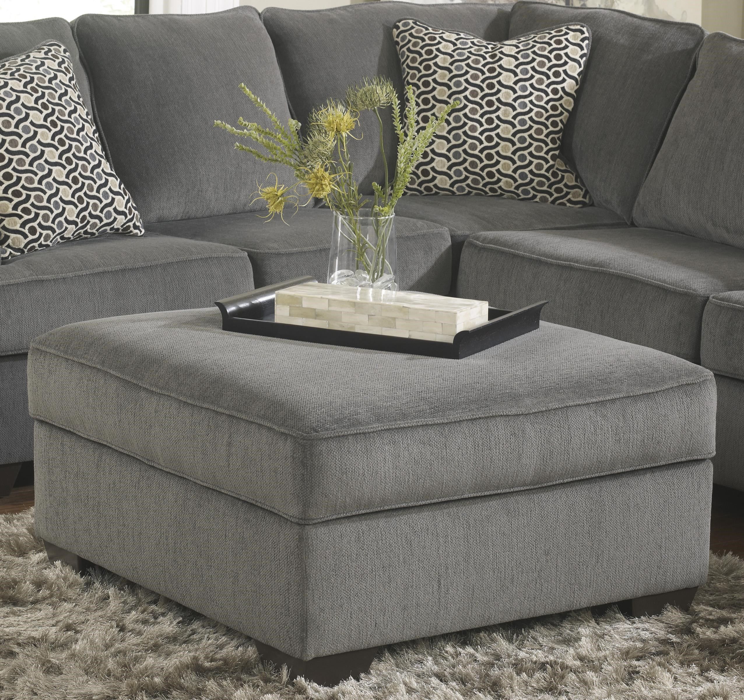 Ashley Furniture Loric   SmokeOttoman With Storage ...