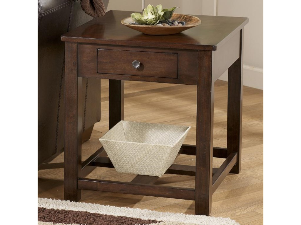 Signature Design by Ashley ManhattanRectangular End Table