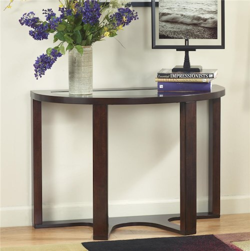 Signature Design by Ashley Marion Demilune Sofa Table