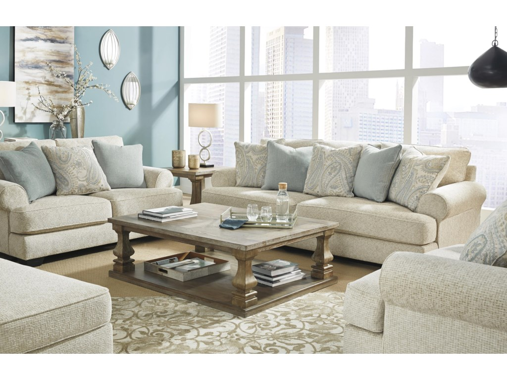 Ashley Furniture MonaghanSofa, Loveseat, Chair and Ottoman