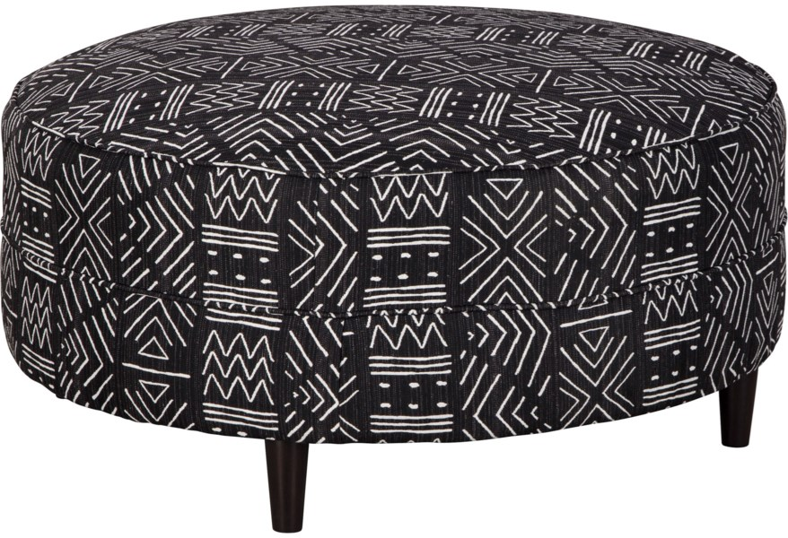 Superb Neira Round Oversized Accent Ottoman By Ashley Furniture At Furniture And Appliancemart Bralicious Painted Fabric Chair Ideas Braliciousco