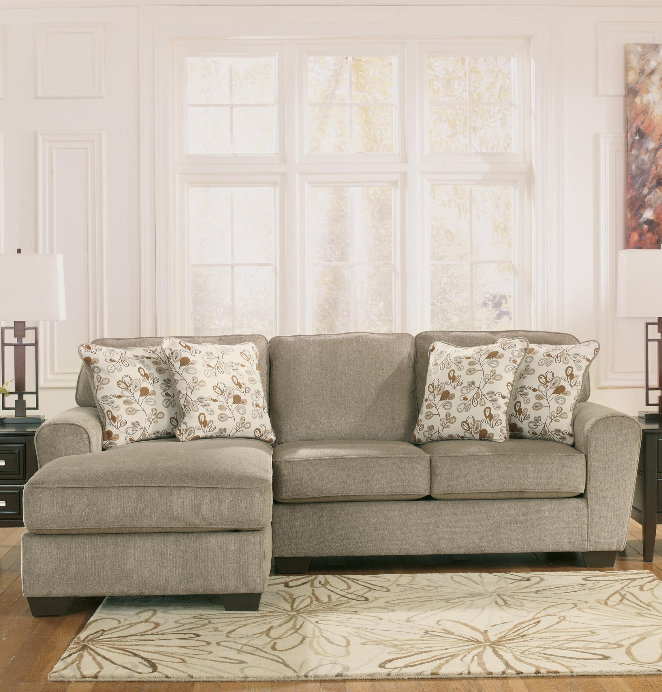 Ashley Furniture Patola Park   Patina 2 Piece Sectional With Left Chaise    Van Hill Furniture   Sofa Sectional