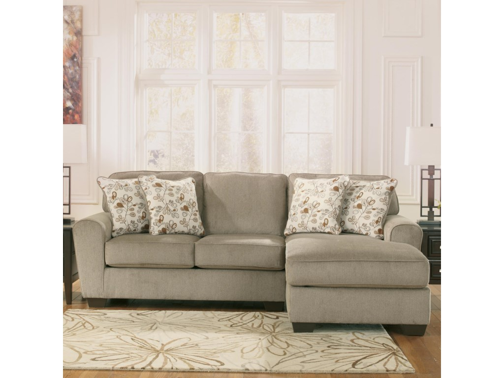 Patola Park Patina 2 Piece Sectional With Right Chaise By Ashley Furniture