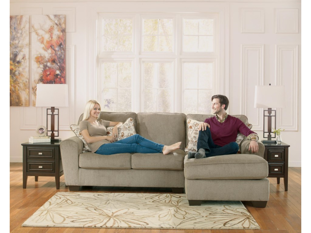 Ashley Furniture Patola Park - Patina2-Piece Sectional with Right Chaise