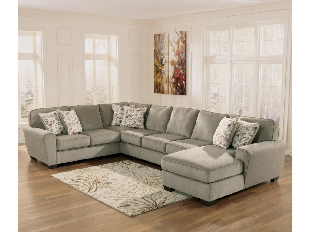 Ashley sofa sectional ashley signature design alenya for Ashley sectional with chaise