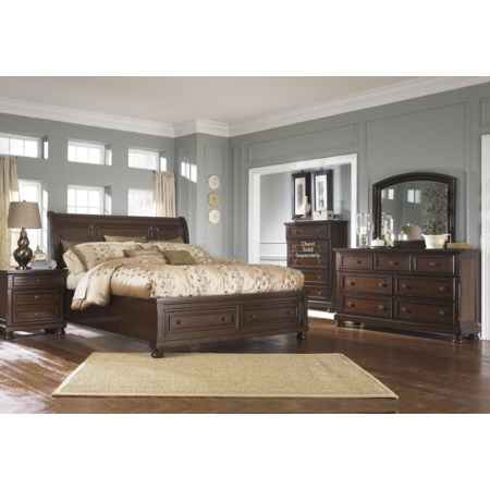 Porter King 6-Piece Bedroom Group