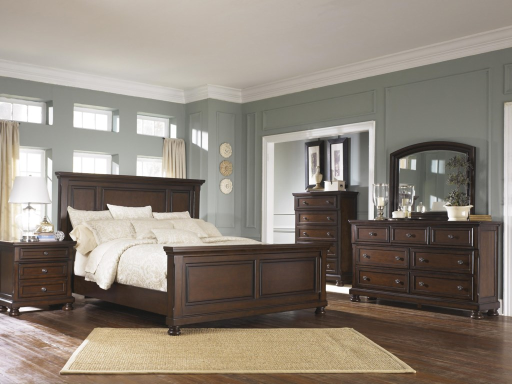 Ashley Furniture Porter Queen Bedroom Group Gill Brothers