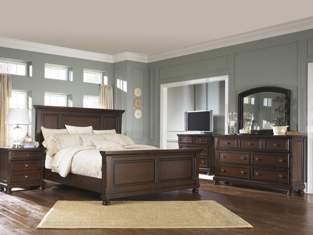 Ashley Furniture Porter HouseKing Bedroom Group