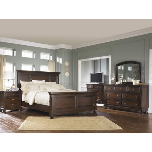 Ashley Furniture Porter King Bedroom Group