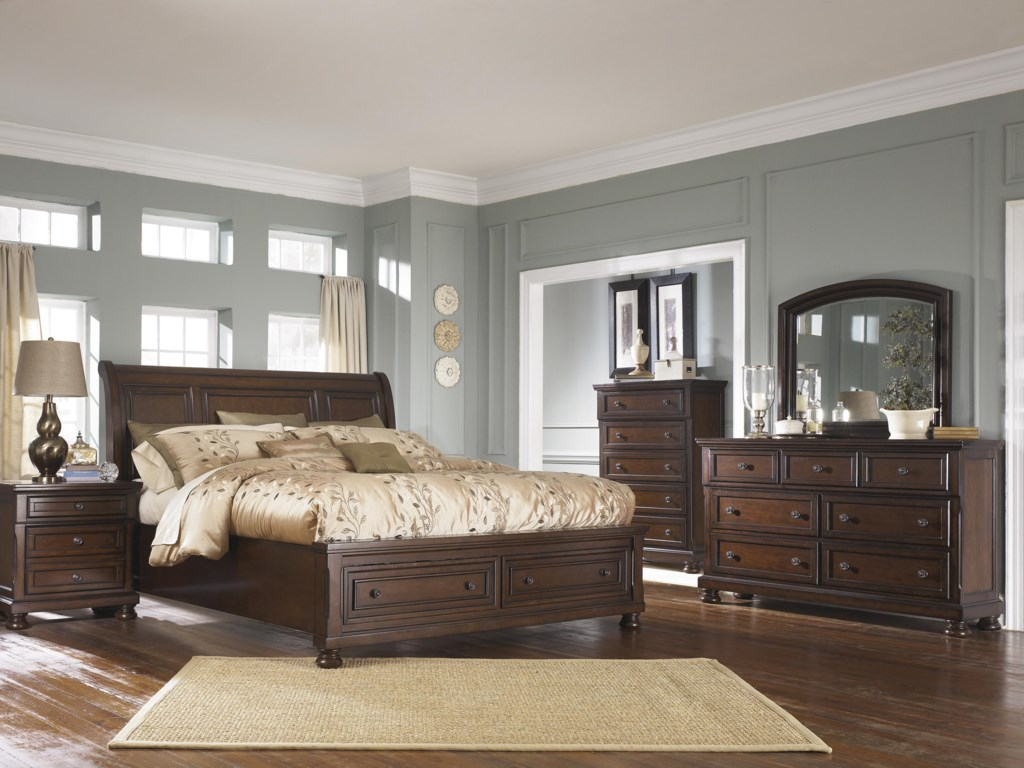 Ashley Furniture PorterCalifornia King Bedroom Group