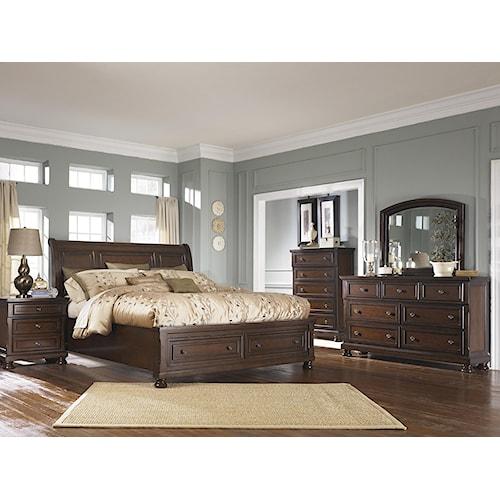 Ashley Furniture Porter California King Bedroom Group