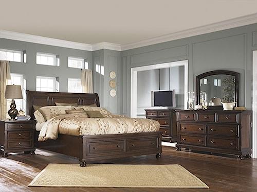 Ashley Furniture Porter Queen Bedroom Group Northeast Factory Direct Bedroom
